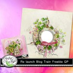 Freebie: Shabby Pickles Blog Train