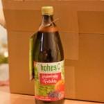 Heimische Früchte: Apfel & Holunderbeere