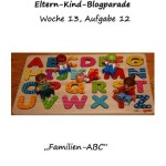 Blogparade Eltern & Kind: Aufgabe 12