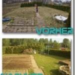 Das Gartenelend hat ein Ende