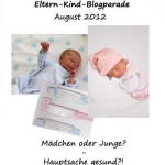 Blogparade Eltern & Kind August