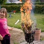 Ein Feuerchen in Ehren