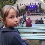 Jessicas erstes Konzert